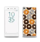 Sony Xperia E5 TPU Hoesje DONUT