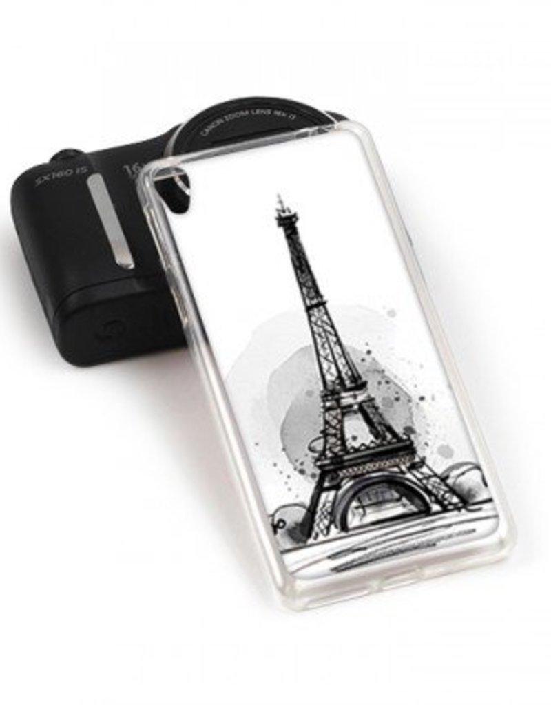Sony Xperia E5 TPU Hoesje PARIJS