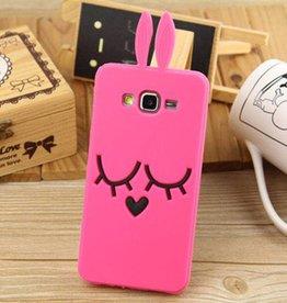 Samsung Galaxy J5(2015) Pink Bunny