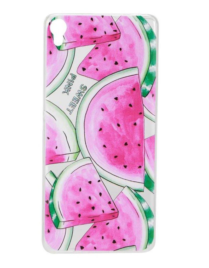 Sony Xperia XA TPU Hoesje Watermeloen