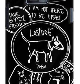 LostDog LostDog Hard Case I Am Not Here To Be Upset Zwart voor Samsung i9100 Galaxy SII