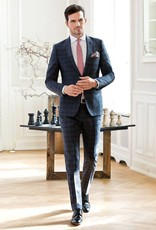 Roy Robson Blue/Charcoal Checked Suit