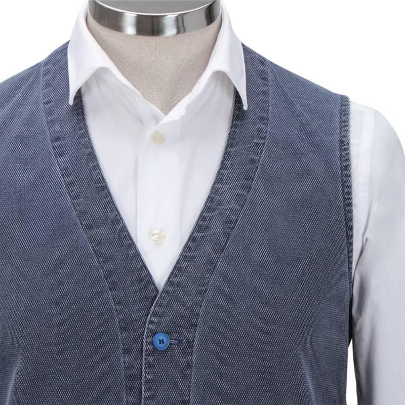 Florentino Pale Blue Co-ordinating Waiscoat