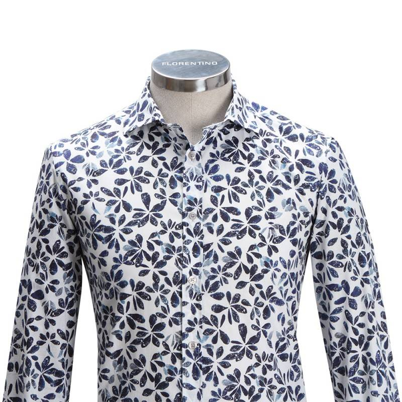Florentino Slim fit Flower Shirt