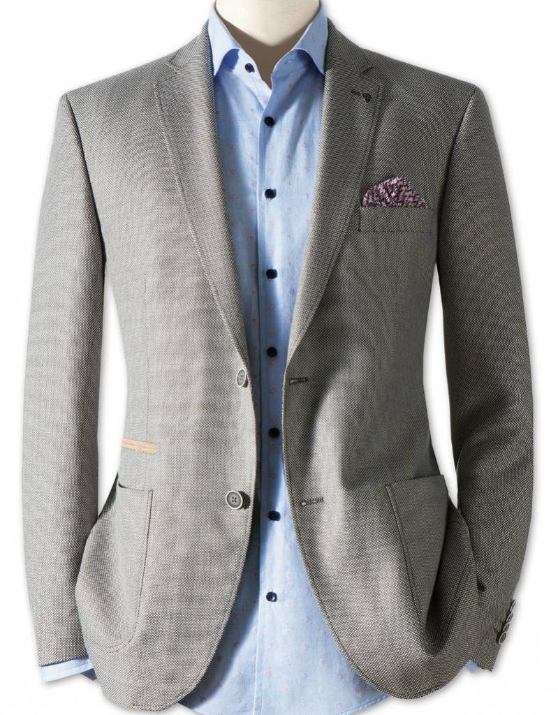 Roy Robson Oatmeal Linen/Wool Jacket