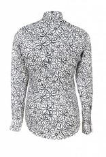 Ingrami Slim Fit Flower shirt