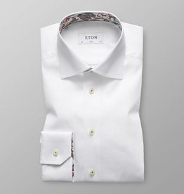 Eton White twill with safari trim