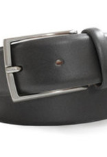 Robert Charles Charcoal leather trouser belt