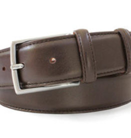 Robert Charles Brown Dark Leather Belt