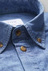 Eton Short sleeve Denim resort collar