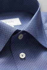 Eton Pinpoint Poplin with hidden button down