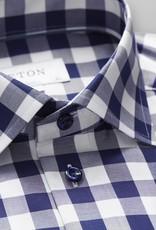 Eton Hidden button down Gingham