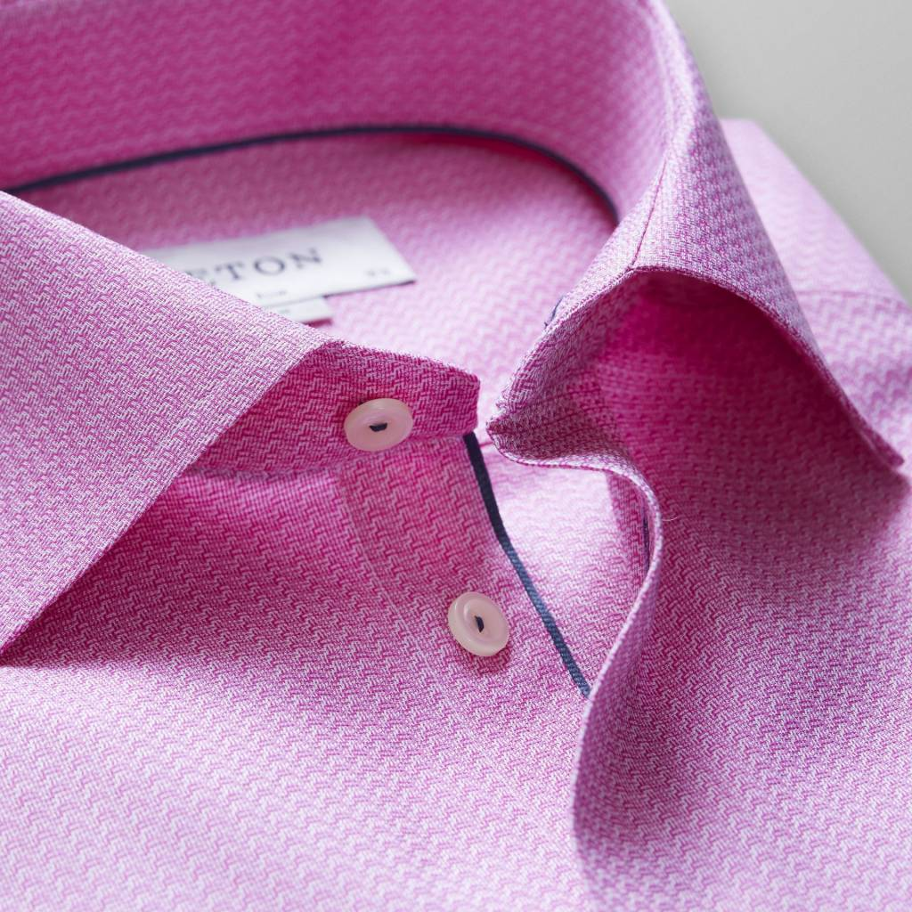 Eton Textured Poplin with piping