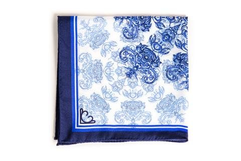 Lauren Catris Pure Silk Pocket Square