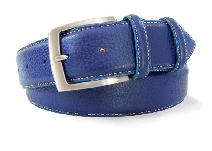 Robert Charles French Blue Jean Belt