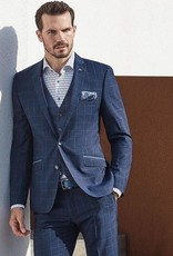 Roy Robson 3 piece Navy Window check - Marlane