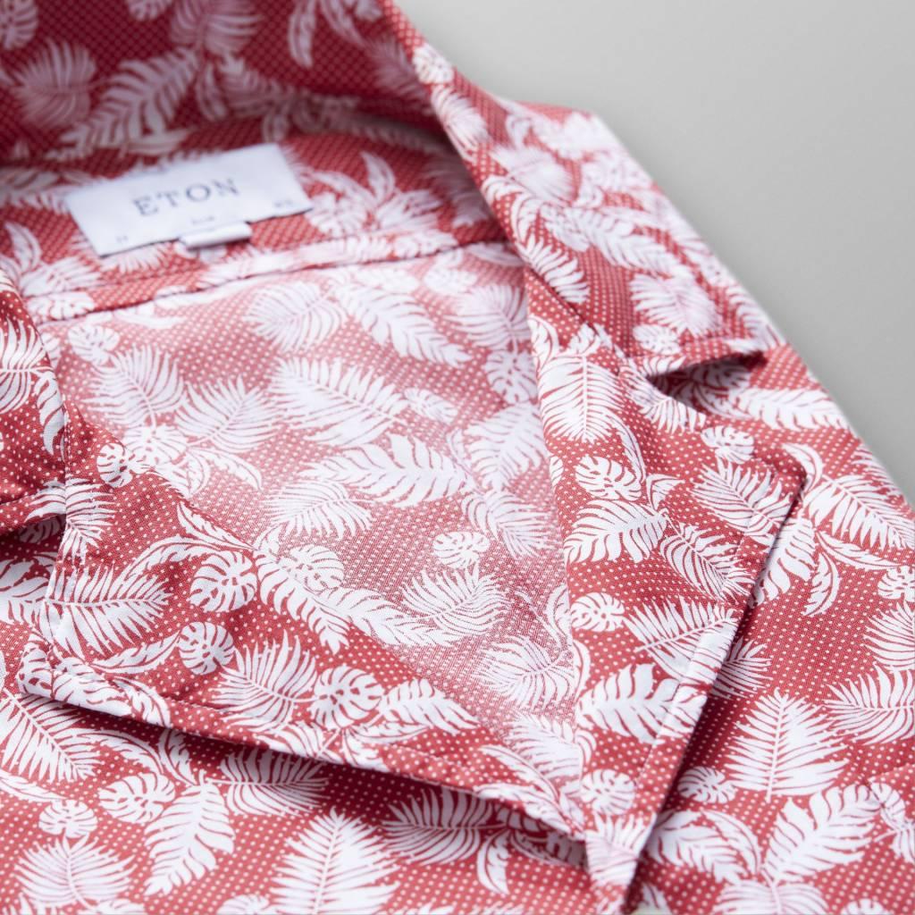 Eton Flower resort shirt