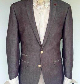 Roy Robson Light Brown linen blend with pocket trim