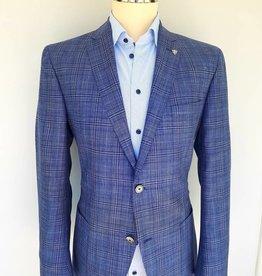 Roy Robson Loro Piana Blue Checked Jacket