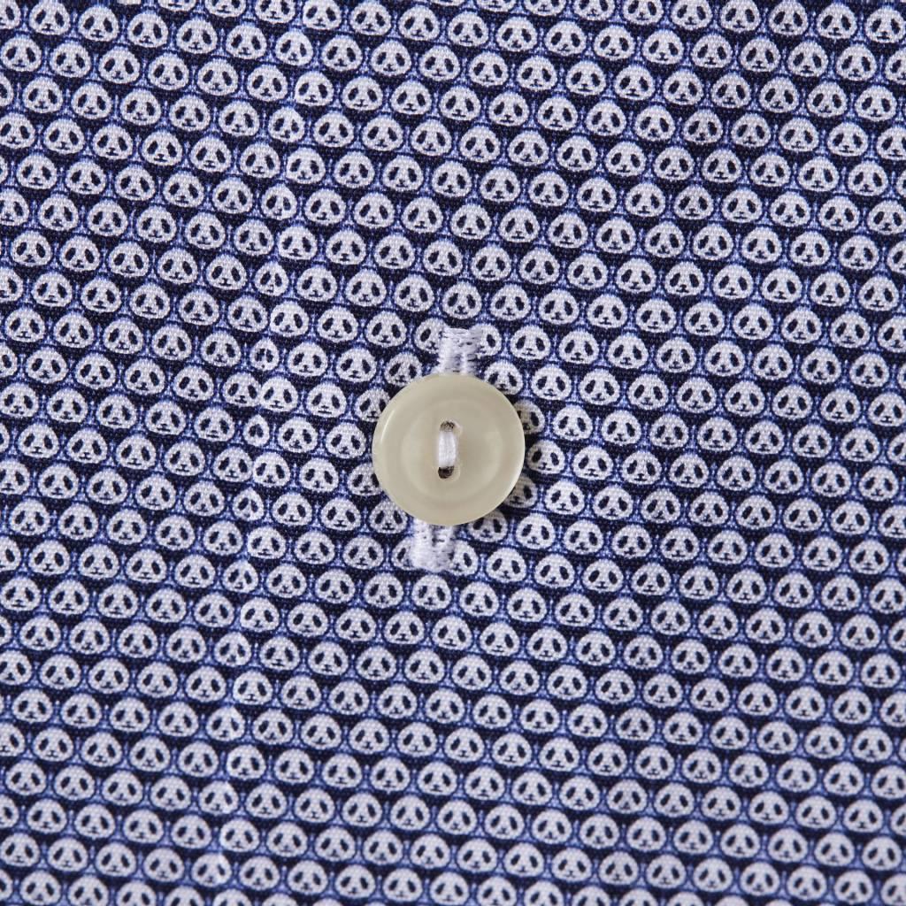 Eton blue panda print