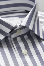 Eton Blue white wide stripe
