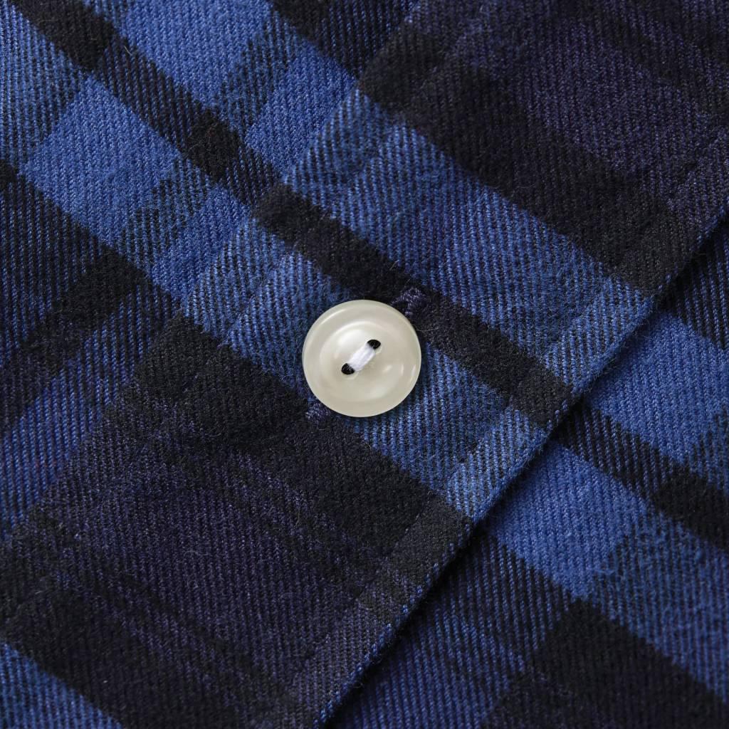 Eton Blue Check Flannel
