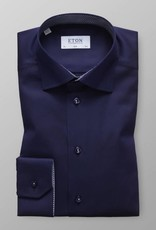 Eton Signature Twill with Panda Trim