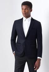 Remus Uomo Grey circle velvet collar