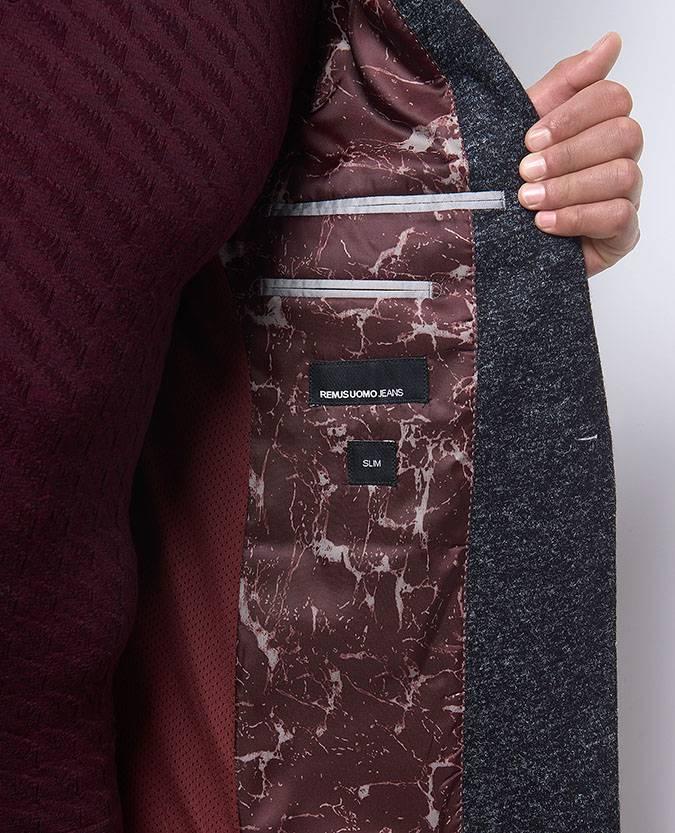 Remus Uomo Remus grey fleck jacket
