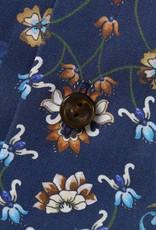 Eton Navy Floral Print Shirt