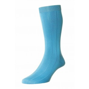 Pantherella pure sea island cotton sock