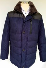 Bugatti Goose down blue coat