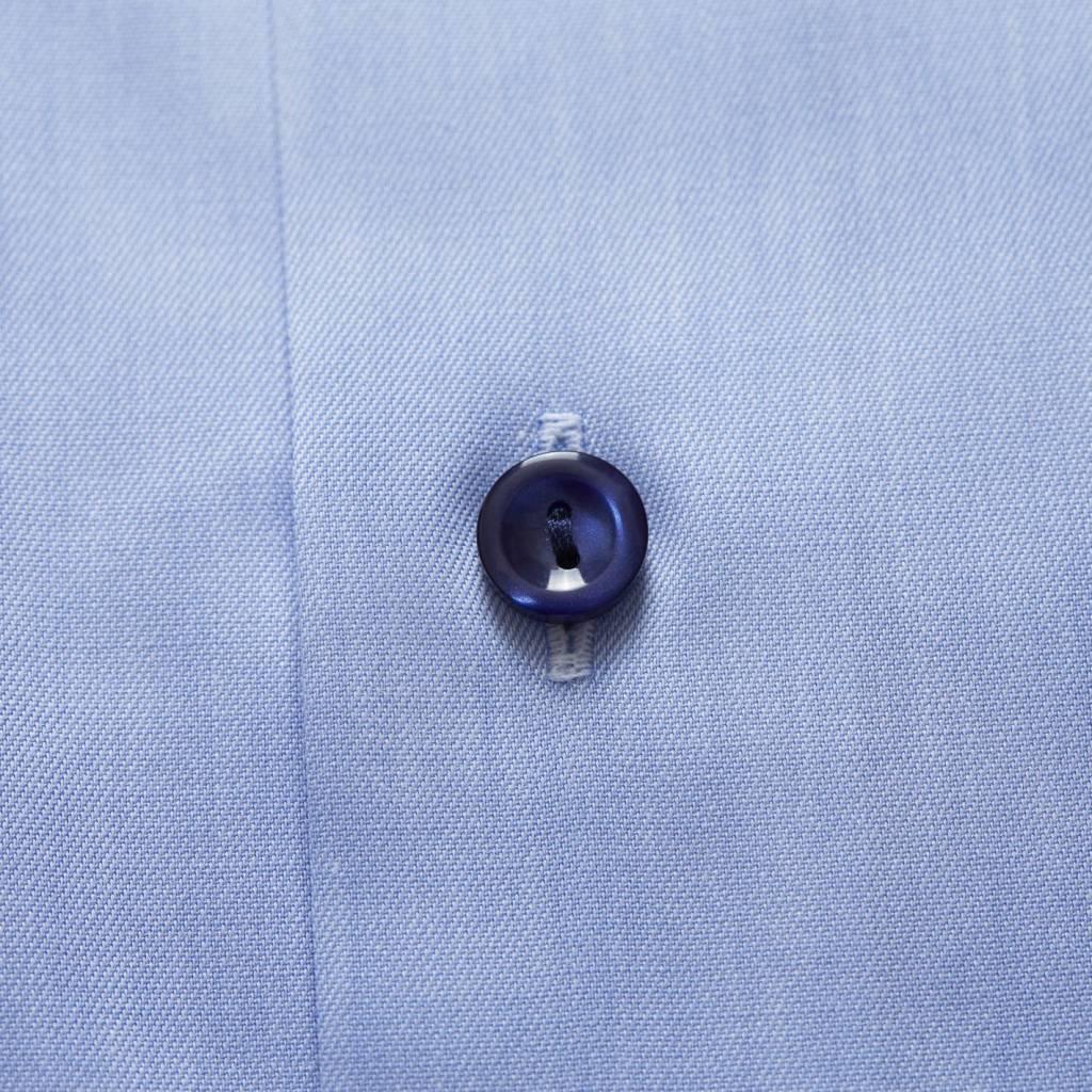 Eton Sky Blue Twill with paisley trim