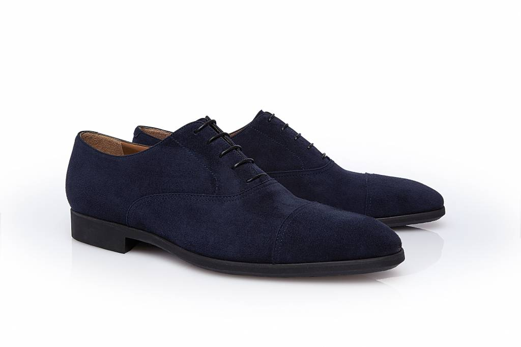 Stemar Udine - Navy Calf Suede Shoe