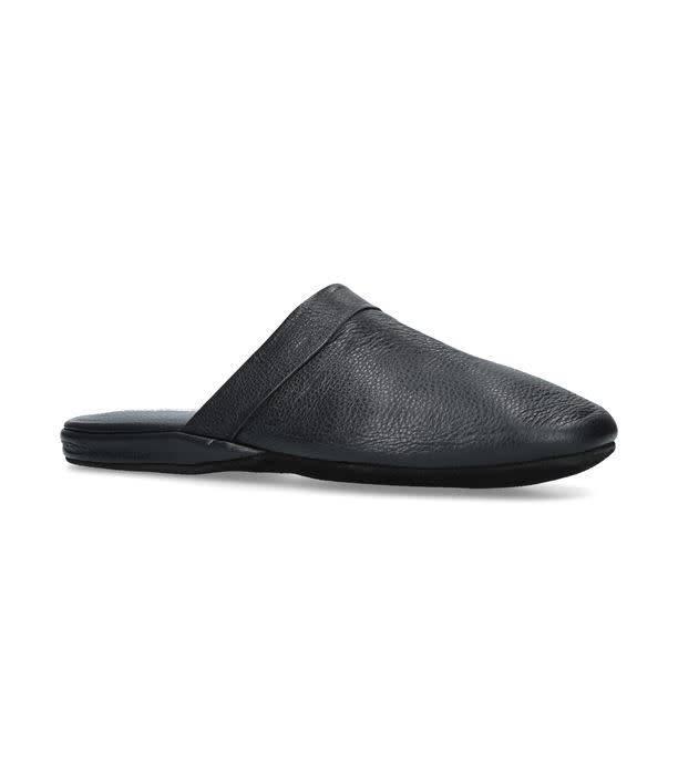Stemar Heathrow Leather Slipper