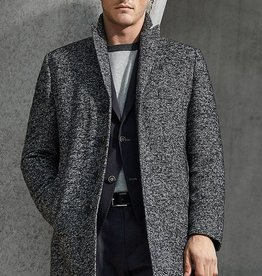 Roy Robson Robson grey marbled coat