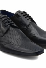 Lacuzzo Black blue stone shoe
