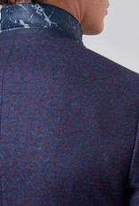 Remus Uomo blue red diamond jacket