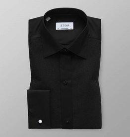 Eton Black Sparkle Dinner Shirt