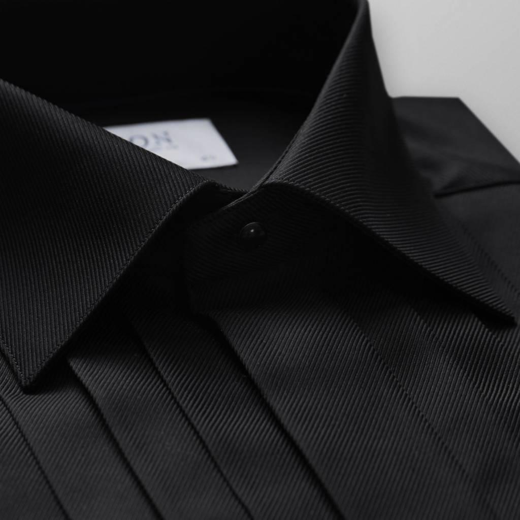Eton Pleated Dress Shirt- Slim Fit