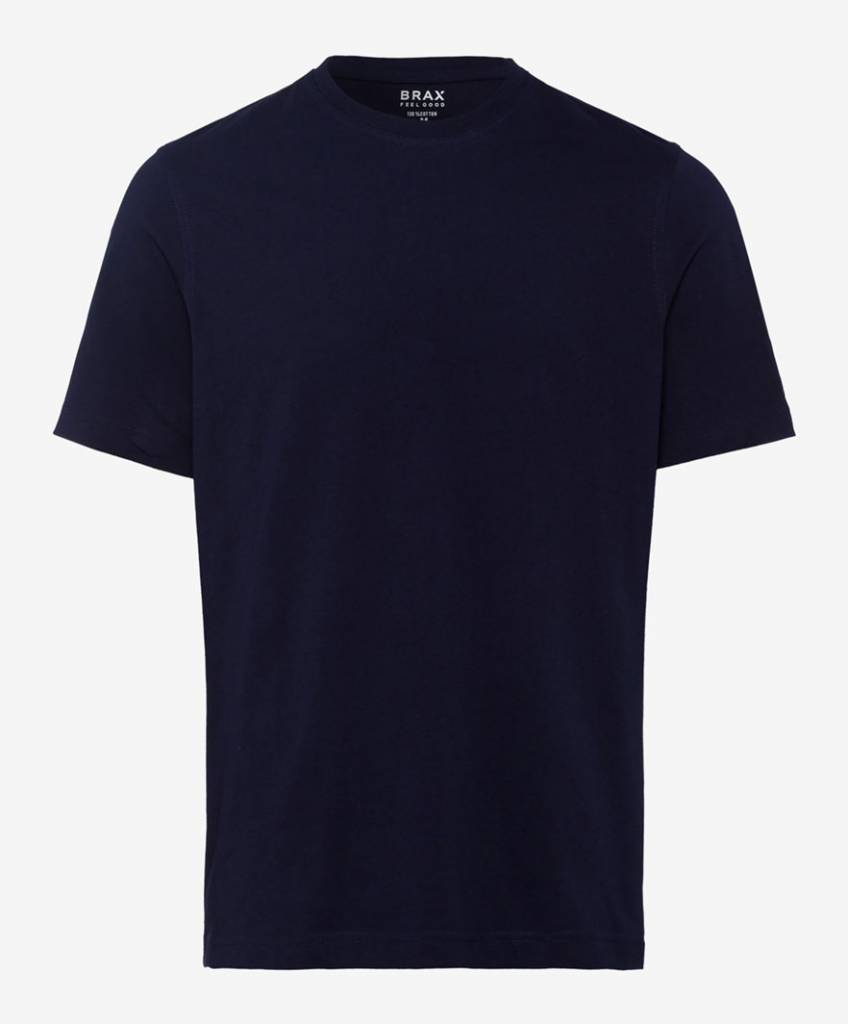 Brax Navy Blue Crew neck T-shirt