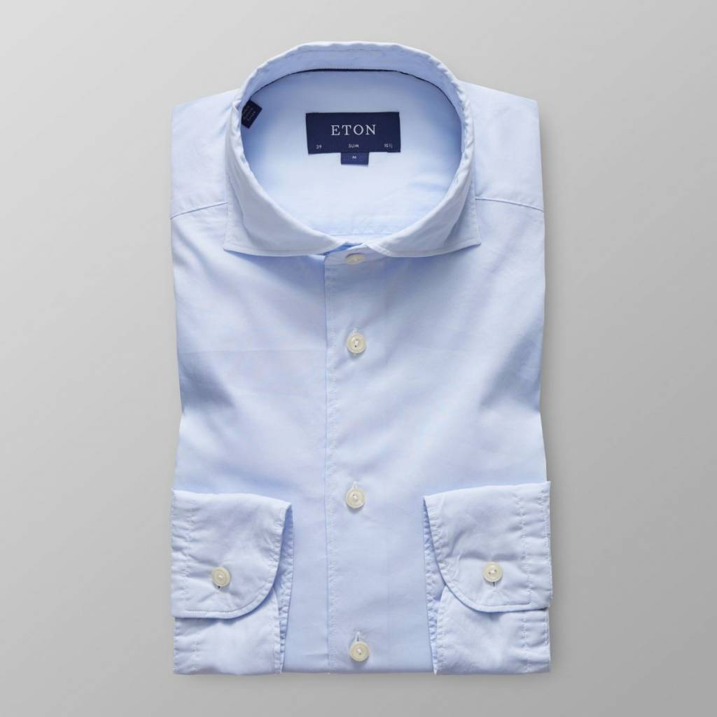 Eton Slim Fit Micromodal Shirt