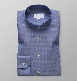 Eton Mandarin Collar with diamond print