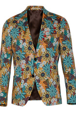 Bertoni of Denmark Tailored Floral printed Cotton Jacket