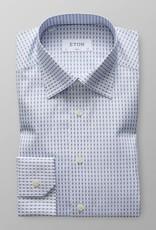 Eton Blue Tennis Print - Button Under