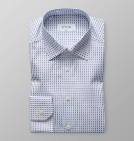 Eton Blue Tennis Print - Button Under