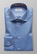 Eton Signature twill with tennis Print trim