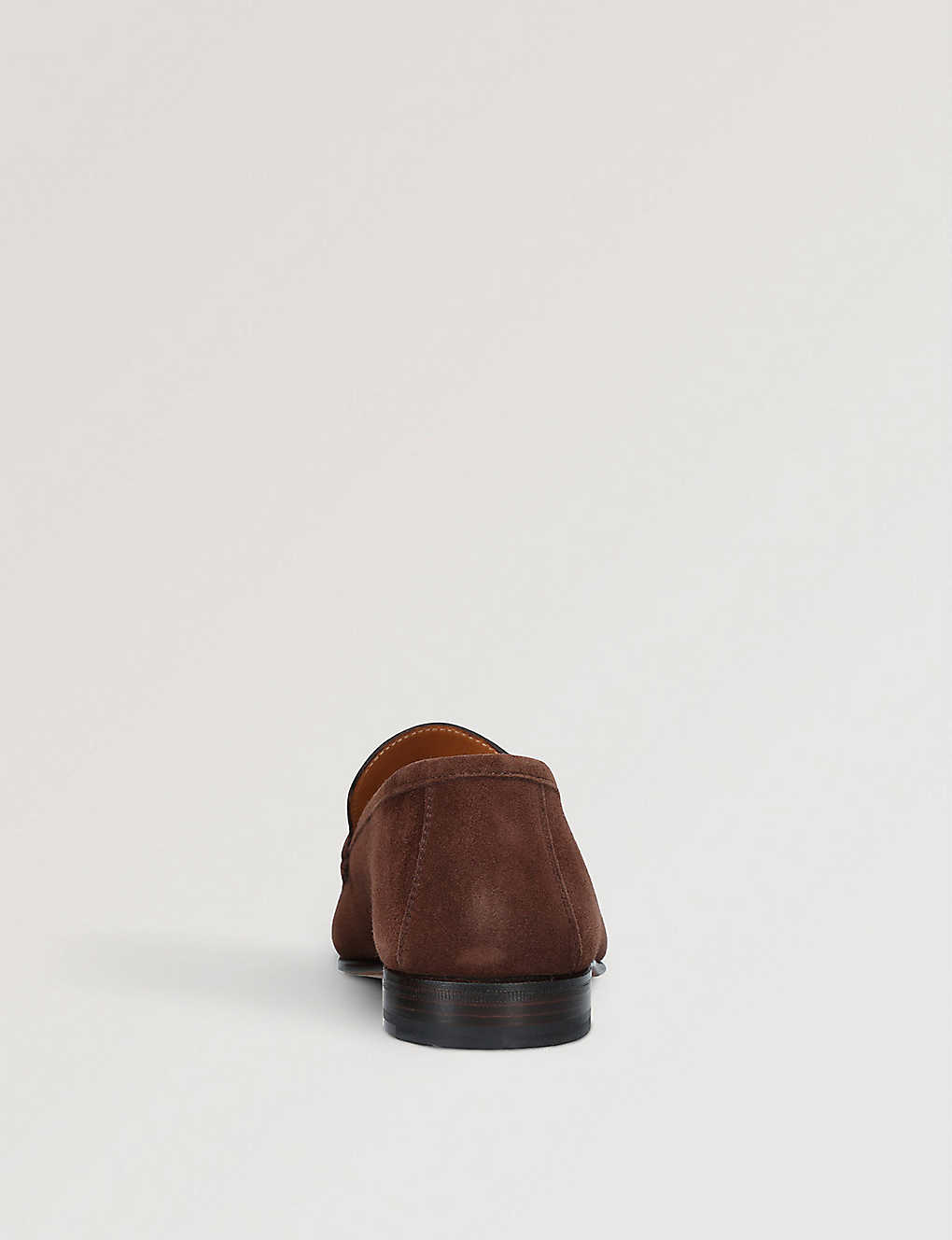 Stemar Sorrento - Brown Suede Penny Loafer