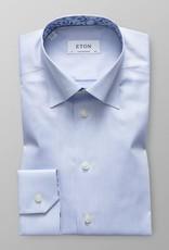 Eton Slim Fit Twill with Dandelion trim