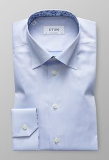 Eton Button Under Signature Twill with Dandelion trim
